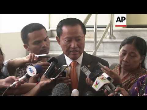 Indonesian Justice Minister's news conference on Australian drug smuggler Schapelle Corby