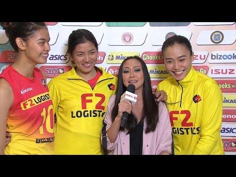 Match MVPs: Majoy Baron and Cha Cruz-Behag | PSL All-Filipino Conference 2018