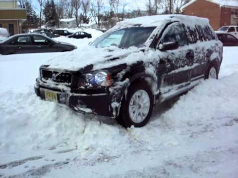 First Snow 2010 Nj Volvo Xc90 Shitty Tires P Youtube
