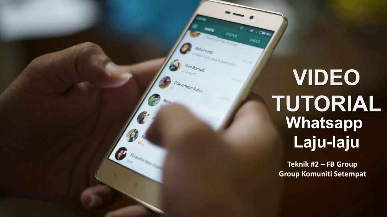 Video Teknik Paling Cepat Dapat Customer Whatsapp Laju-laju Tanpa Guna  FBAds | KepokLekor.com