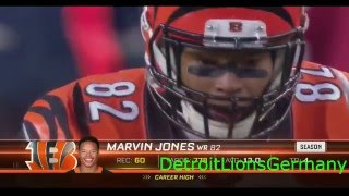 Marvin Jones Welcome to the Detroit Lions 2015/2016 Highlights
