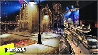 XMAS ZOMBIES MAP 'STUDIO 115' WITH FLYING SANTA SLEIGH! (Black Ops 3 Custom Zombies)