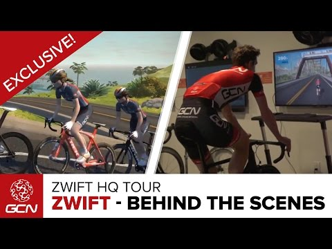 Zwift – Exclusive Behind The Scenes Tour Of Zwift HQ