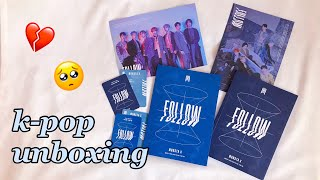 K-POP РАСПАКОВКА MONSTA X - FOLLOW - Find You The mini album UNBOXING
