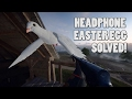 INSANE HEADPHONE EASTER EGG SOLVED! - Battlefield 1 a beginning dogtag