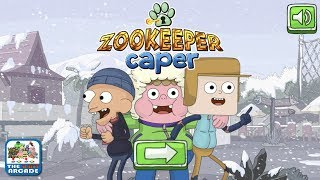 Clarence: Zookeeper Caper -  Sneaking through a Snowy Aberdale Zoo (Cartoon Network Games)
