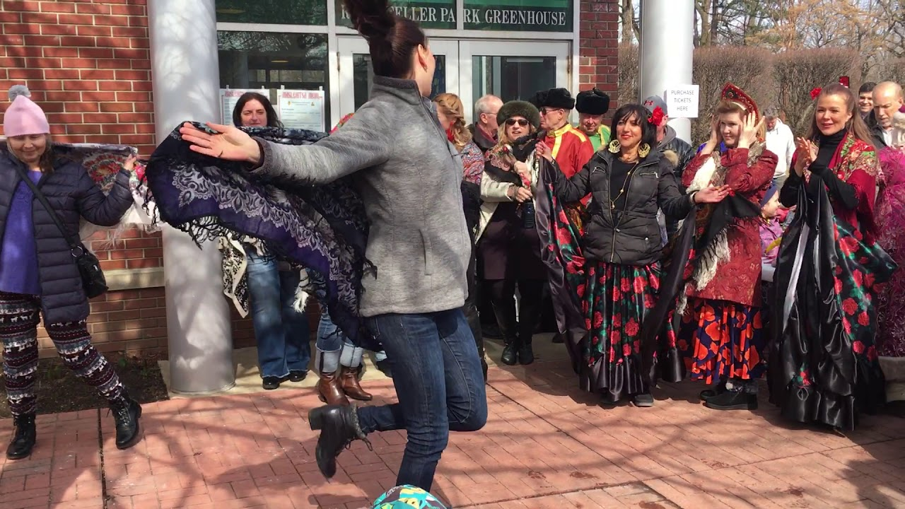 The Babushka Contest Walk at Cleveland's Maslenitsa Festival