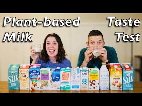 Which plant based milk is the best? | plant based milk taste test