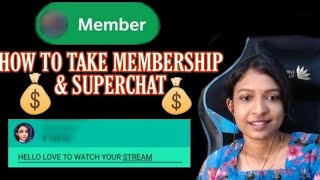 How to take membership in youtube channels//superchats//livestreams//wildcatgaming//telugu
