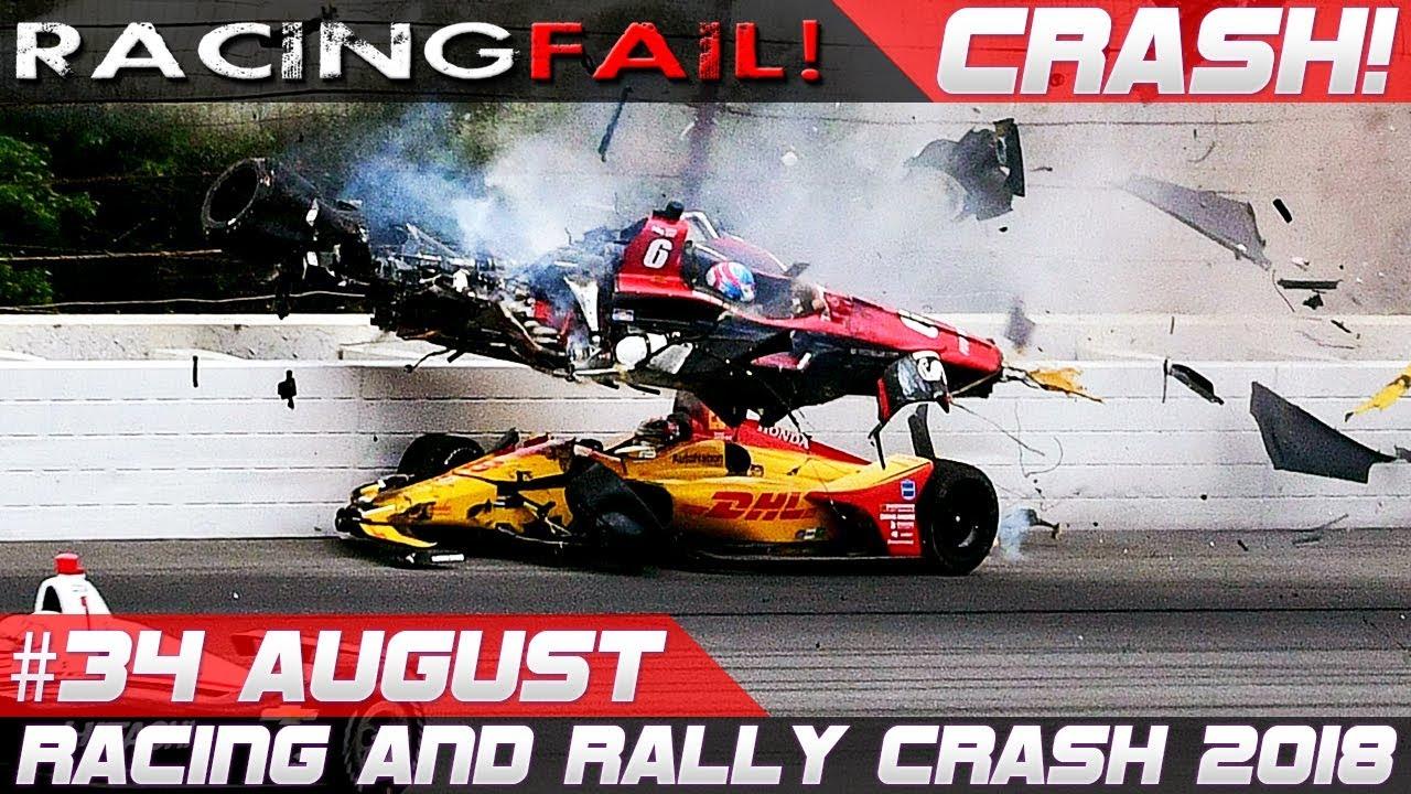Racing And Rally Crash Compilation Week 34 August Incl Wrc Rallye Deutschland 2018