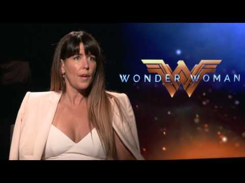 WONDER WOMAN - Director Patty Jenkins with Scott Carty
