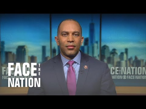 """Hakeem Jeffries says Trump might be illegitimate, a Russian asset or """"useful idiot"""""""