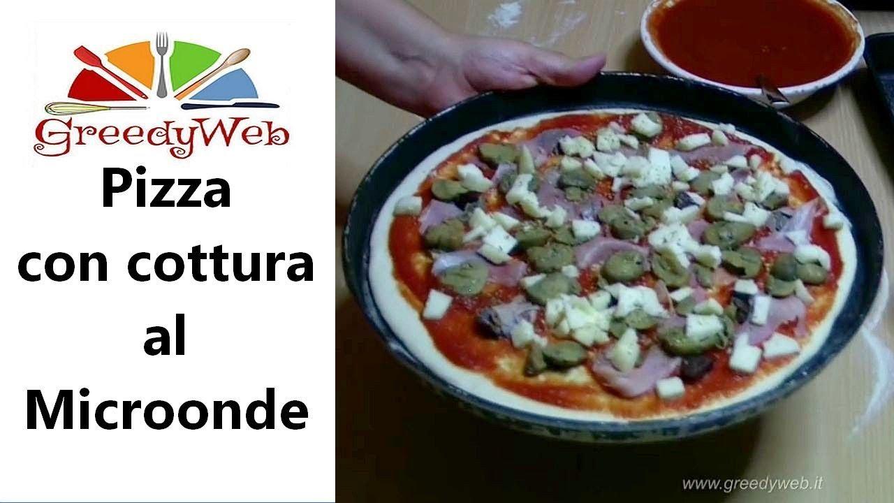 Pizza al microonde - YouTube
