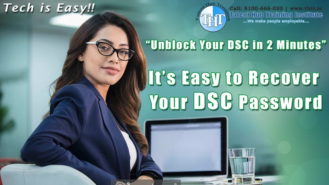 How to Unblock DSC Token | Recover your DSC Password - Step by Step Live  Demo - In English