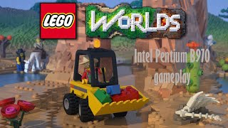 Lego Worlds FPS TEST:Intel Pentium B970,Intel HD Bay Trail