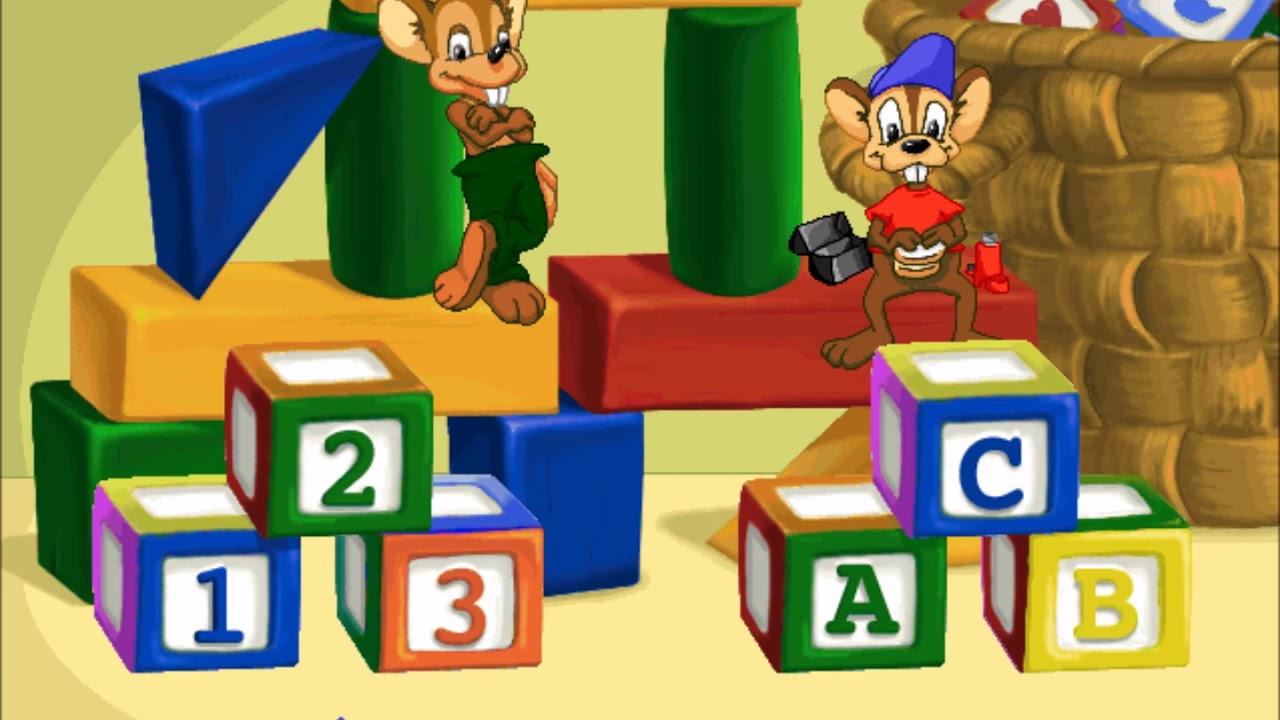 JumpStart Kindergarten (1998) (Part 2) - YouTube