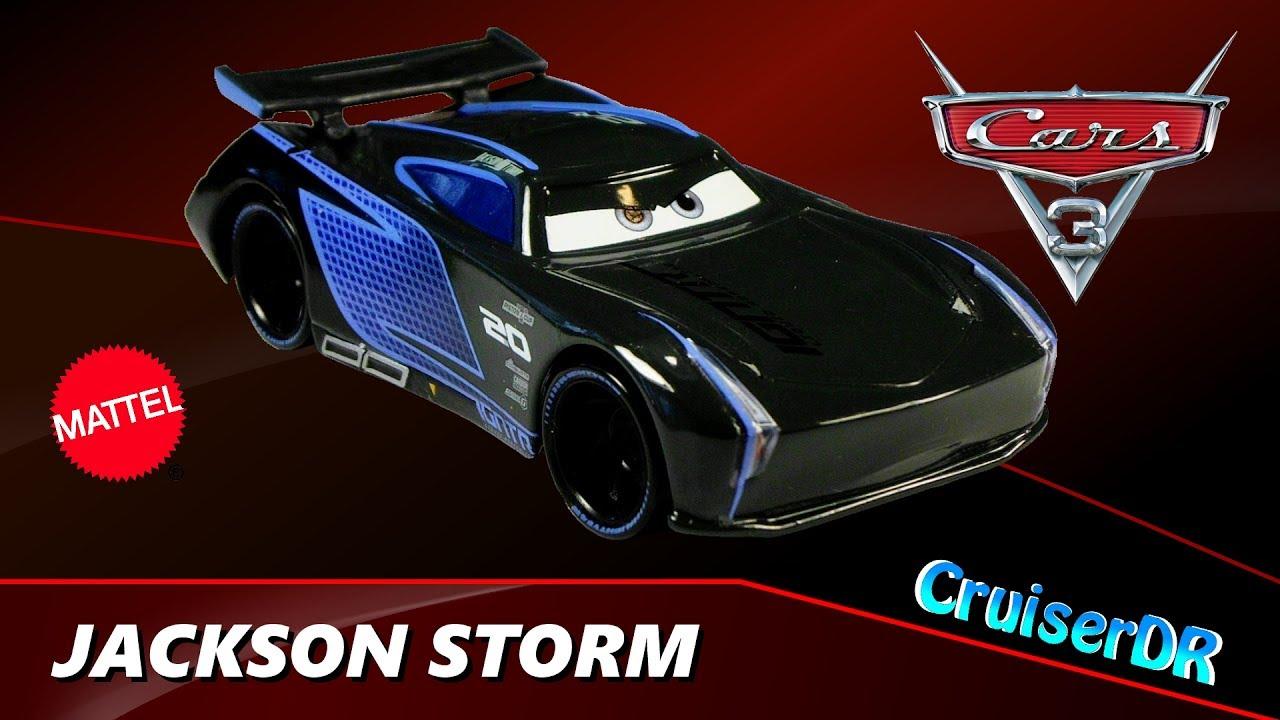 disney pixar cars 3 diecast jackson storm 1 55 mattel youtube. Black Bedroom Furniture Sets. Home Design Ideas