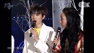 지오디(god) 1위후보 인터뷰 (01년 1월 둘째주 뮤직뱅크)