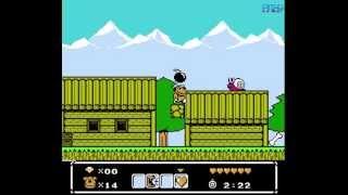 Wacky Races (Nes) - Nostalgia Gameplay - Full Walkthrough