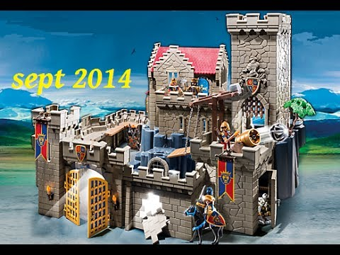 playmobil knights chevalier youtube. Black Bedroom Furniture Sets. Home Design Ideas