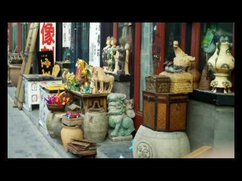 Chinese Curios at Beijing Panjiayuan Market