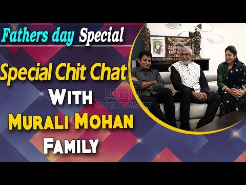 Special Chit Chat With Actor Murali Mohan & Family | Father's Day Special 2019 | ABN Entertainment
