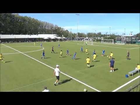 NNSW U12 Development Tournament Game 3 Macquarie v Central Coast Mariners Yellow