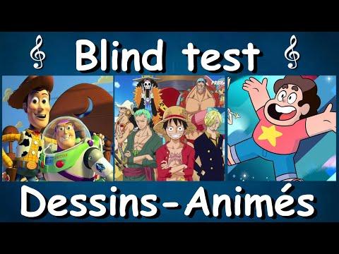 BLIND TEST - DESSIN-ANIME - TOUT GENRES