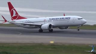 Download Boeing 737 Max 8 Turkish Airlines Takeoff Tzx Trabzon