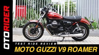 Moto Guzzi V9 Roamer 2017 Test Ride Review - Indonesia | OtoRider