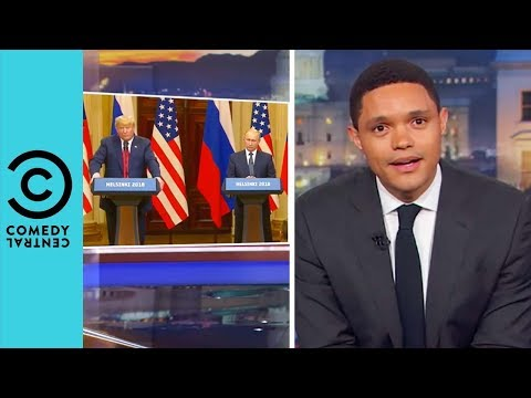 What Is Going On With Trump And Putin? | The Daily Show With Trevor Noah
