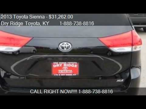 2013 toyota sienna xle for sale in dry ridge ky 41035. Black Bedroom Furniture Sets. Home Design Ideas
