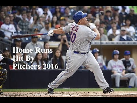 All Home Runs Hit By Pitchers In The 2016 Mlb Season April Through July
