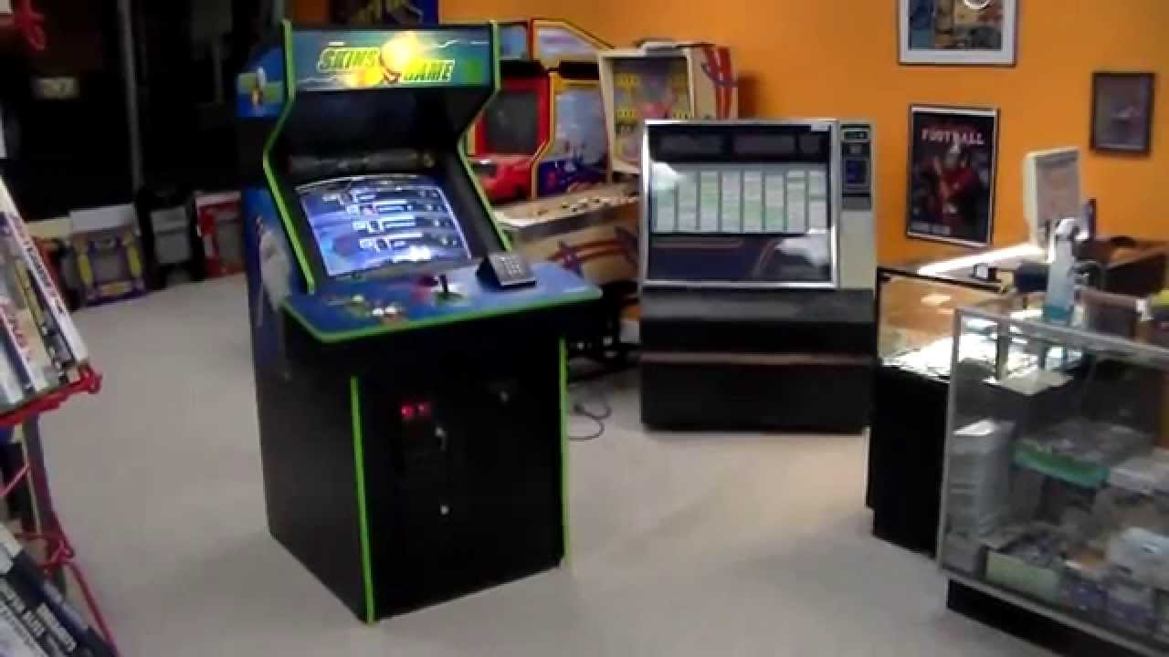 Midway's Skins Game Arcade Machine - Great golf game, overview ...