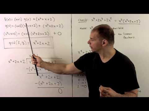 RNT2.5.1.  Euclidean Algorithm for Z/3[x]