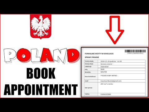 How to Book Poland Embassy Appointment 2019 | Book Poland Embassy Appointment Online