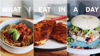 What I eat in a day   Vegan   Einfache Gerichte