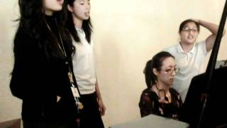 You will never walk alone- Point of Grace Cover by Serena, Phoebe, Janelle