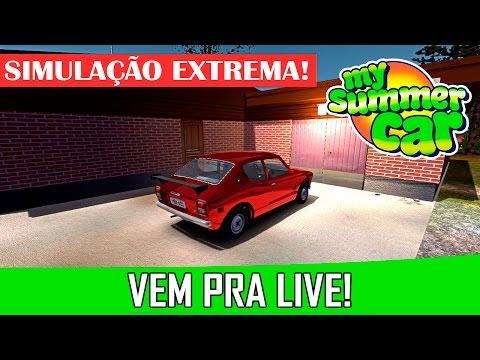 🔴 Simulação Real (#12) My Summer Car / Logitech G25 / GTX 750 Ti 2gb