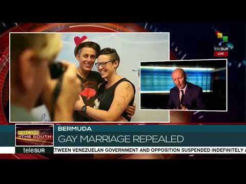 Interview with Hywel Davis about Gay Marriage in Bermuda - FTS