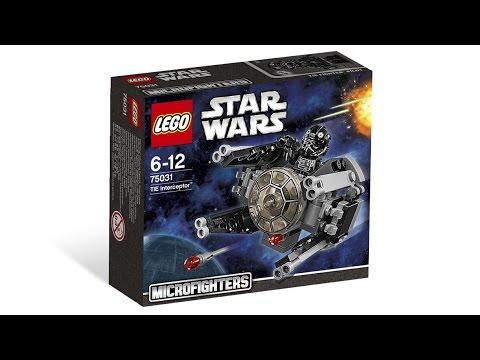 Lego Microfighters 75031 Star Wars Tie Interceptor Building