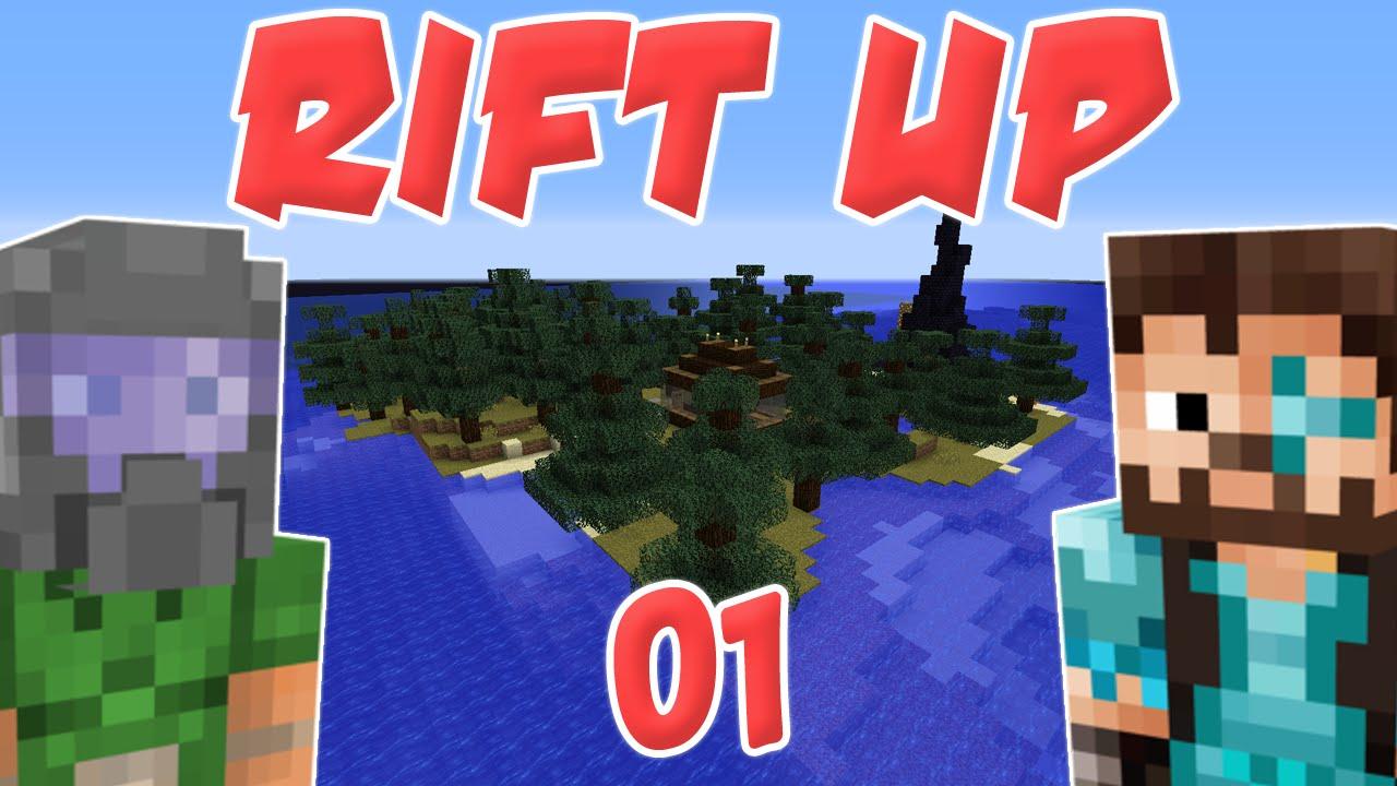 Minecraft: Rift Up /w Iskall85