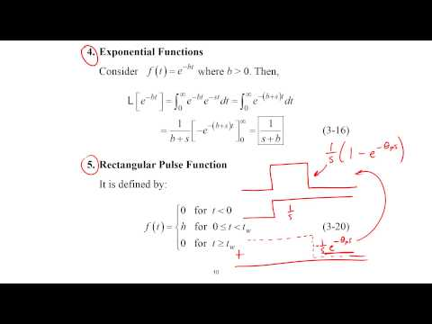 Laplace Transforms for Engineers