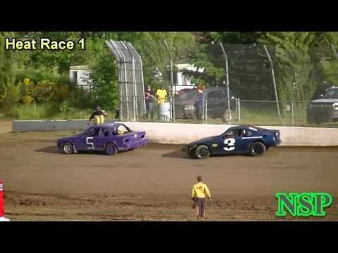 June 10, 2017 Outlaw Tuners Heat Race 1 Grays Harbor Raceway