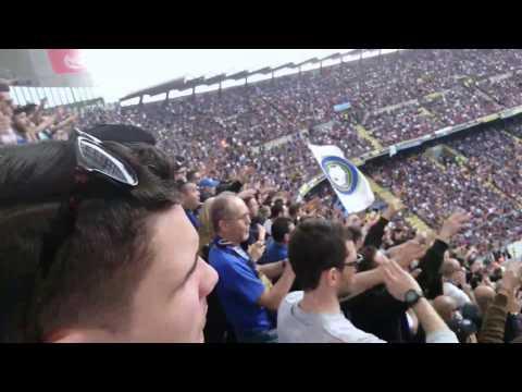 Derby Inter - Milan, Guardate la reazione dei tifosi dell' Inter dopo il pareggio del Milan