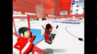 Roblox NHL Hockey Game 1 vs. 1 Second Half
