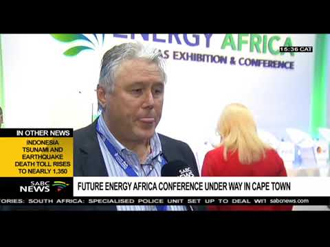 Future Energy Africa Conference is underway in Cape Town