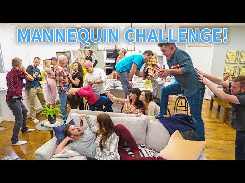 HOUSE PARTY MANNEQUIN CHALLENGE