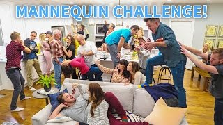 HOUSE PARTY MANNEQUIN CHALLENGE!