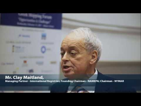 2017 8th Annual Greek Shipping Forum Interview-Clay Maitland